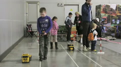 8th International exhibition Moscow Hobby Expo in Moscow Stock Footage