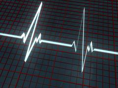 Cardiogram - stock illustration