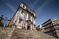Church of Saint Ildefonso (Igreja de Santo Ildefonso) , Porto, Portugal Stock Photos
