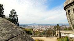 City view - BOM JESUS - Braga. Stock Footage
