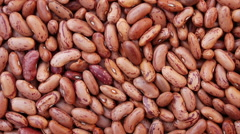 Heap of bean, panning HD footage - stock footage
