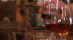 Wine storage in Madeira - Portugal. - stock footage