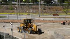 Excavator in Working Stock Footage