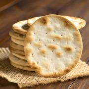 Saltine or Soda Crackers Stock Photos