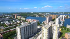 Sunny Isles Beach Florida a great place to live Stock Footage