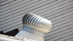Roof Ventilator - stock footage