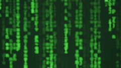 Computer Code Abstract Stock Footage