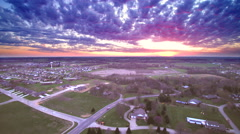 HDR Missouri Sunset - stock footage