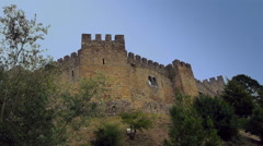 A Castle of Pombal, Portugal. Stock Footage