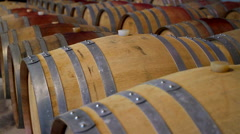 Wine cellar Stock Footage