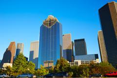 Houston downtown skyline of Texas city in US Kuvituskuvat
