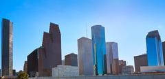 Houston city skyline from west Texas US Kuvituskuvat