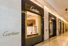 Cartier store at Siam Paragon mall, Bangkok - stock photo