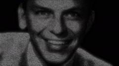 Sinatra Singer Animation Stock Footage