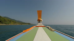 Coast of ko lanta in thailand Stock Footage