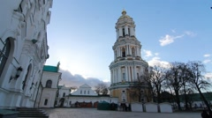 Kiev Pechersk Lavra Stock Footage