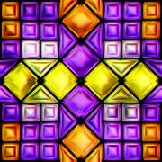 Seamless texture of colorful bright abstraction Stock Illustration