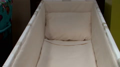 Coffin at funeral view inside zoom Stock Footage