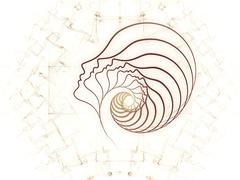 Elegance of Soul Geometry - stock illustration