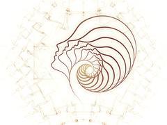 Elegance of Soul Geometry - stock illustration