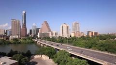 Austin skyline, Texas Stock Footage
