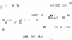 Digital malfunction - Glitch 1008 HD, 4K Stock Video - stock footage