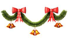 Christmas and new year decoration. Stock Illustration