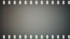 Film reel moves horizontally. Stock Footage