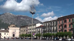 Sulmona, an ancient city of Abruzzo - stock footage