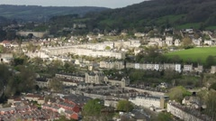City of Bath, England Stock Footage