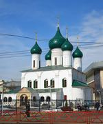 Russia, Yaroslavl-March 29.2016.   Church of the Ascension Stock Photos