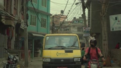 Nepal 1 Year After the Earthquake. Daily Life 4K Stock Footage