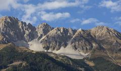 Mountains from the Austrian Alps Stock Photos