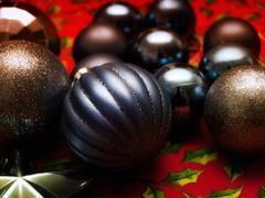 Dark Christmas - stock photo