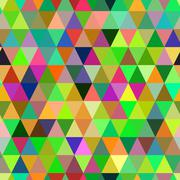Abstract geometric triangle seamless pattern. - stock illustration