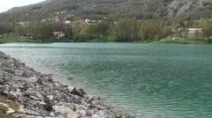 Cardito small town in the Lazio - stock footage