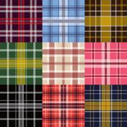 garment pattern - stock illustration