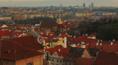 POV Walking Shot of the Old Town in Prague, Czech Republic (Czechia) Stock Footage