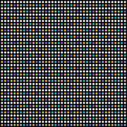 colorful dot theme art pattern - stock illustration