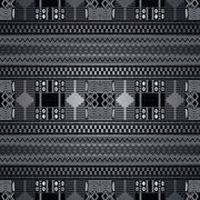 native america pattern art - stock illustration