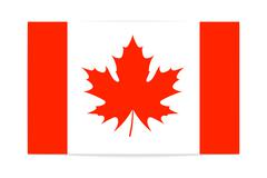 The canadian flag patriotism Stock Illustration