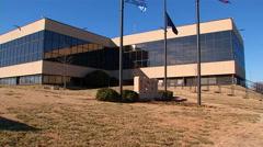 Oklahoma OSBI Exterior Stock Footage