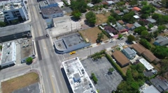 Aerial Design District Miami FL Stock Footage