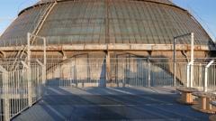 Highline walkway gallery Milan, Vittorio Emanuele - stock footage