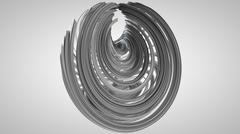Stock Illustration of 3D illustration of abstract figures