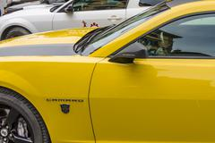 "Camaro from ""Transformers"" movie - stock photo"
