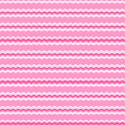 Cute pink seamless pattern. Endless texture - stock illustration