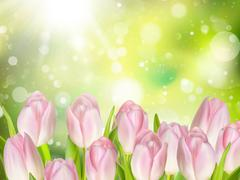 Mothers Day background. EPS 10 Stock Illustration