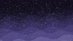 Snow falls , abstraction, background Stock Footage