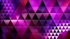 Abstract violet background Triangles Stock Footage
